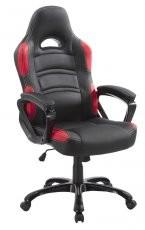 Uredska stolica Mavis II crvena+crna