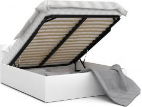 Krevet sa spremnikom Panama plus - 120x200 cm - bijela ili siva
