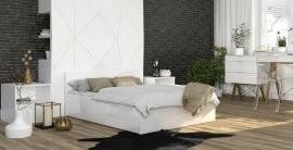 Krevet Panama - 120x200 cm - bijela