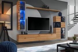 Multimedija TV regal Switch Met II