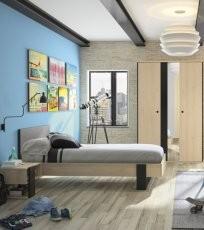 Krevet za mlade Duplex 120x200 cm