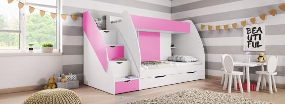 Krevet na kat Marcinek 80x200 cm