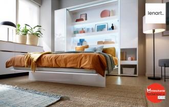 Krevet u ormaru BC-14 - 160x200 cm
