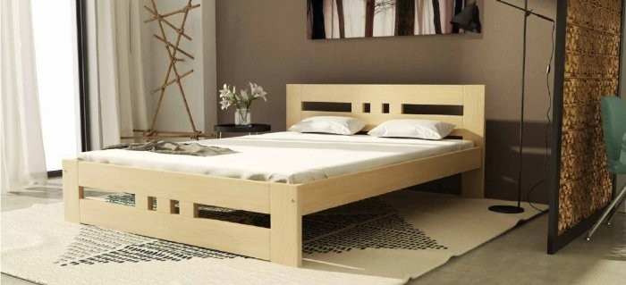 Krevet Roma - 120x200 cm - bor ili bijela